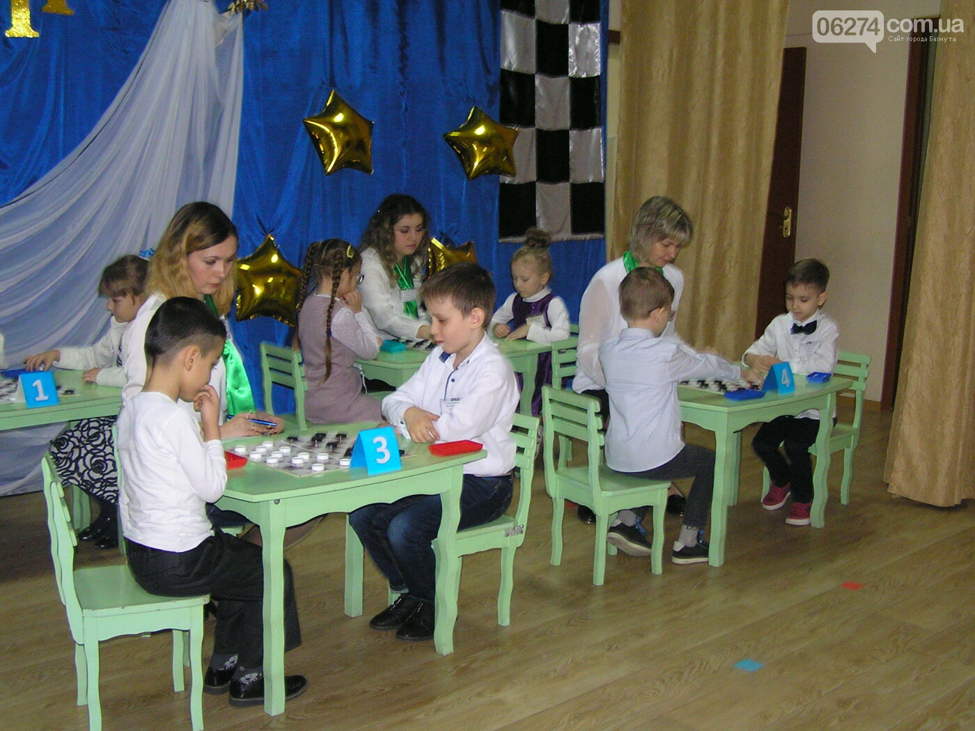 В Бахмуте прошел Финал VII шашечного турнира для детсадовцев, фото-11