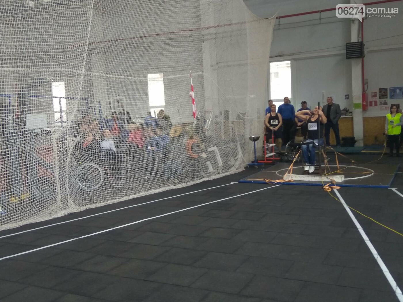 Бахмут принял чемпионат Украины по легкоатлетическим метаниям среди спортсменов с инвалидностью, фото-1