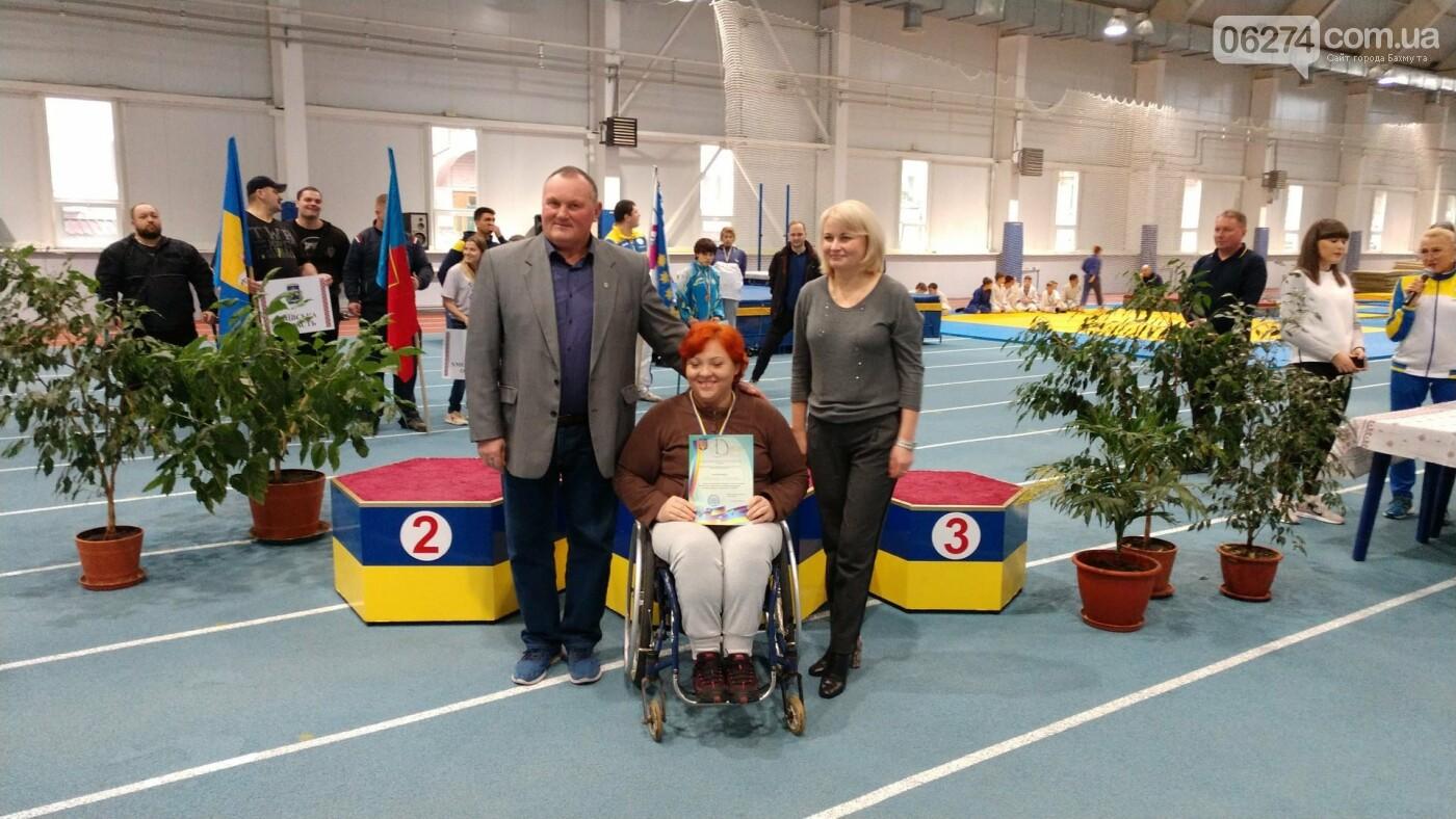 Бахмут принял чемпионат Украины по легкоатлетическим метаниям среди спортсменов с инвалидностью, фото-6