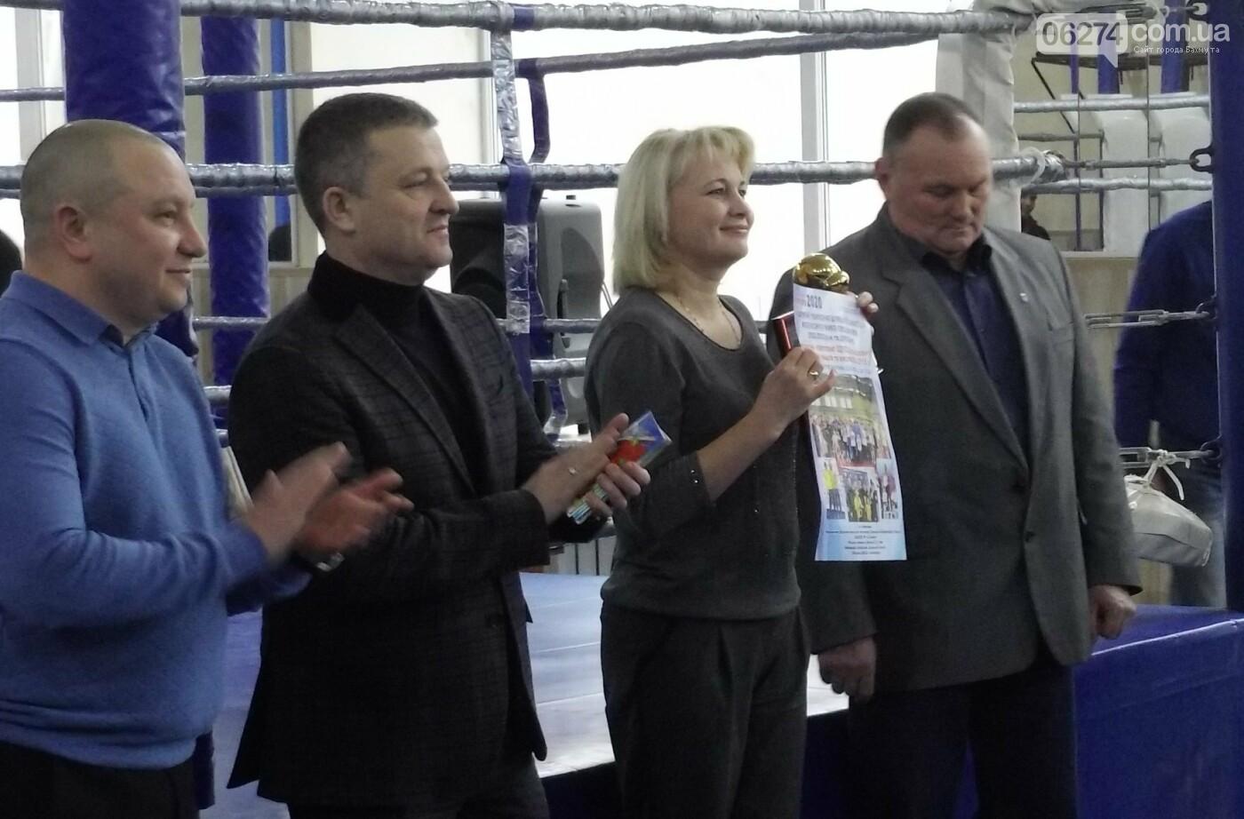 В Бахмуте состоялось открытие чемпионата области по кикбоксингу, фото-1