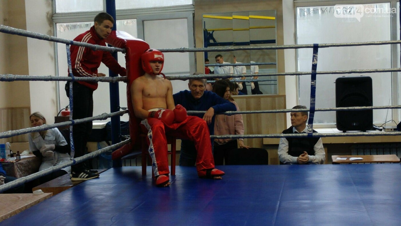 В Бахмуте состоялось открытие чемпионата области по кикбоксингу, фото-6