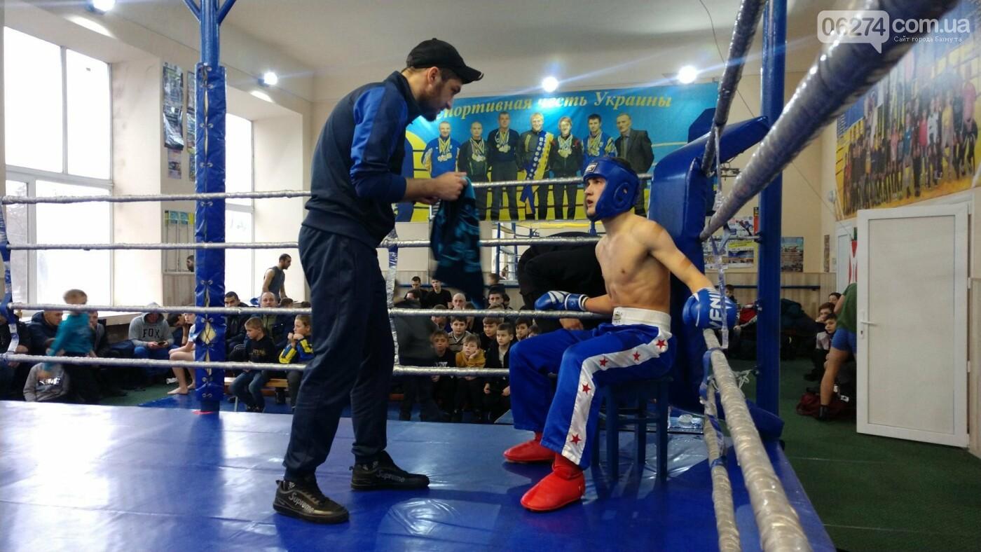 В Бахмуте состоялось открытие чемпионата области по кикбоксингу, фото-8