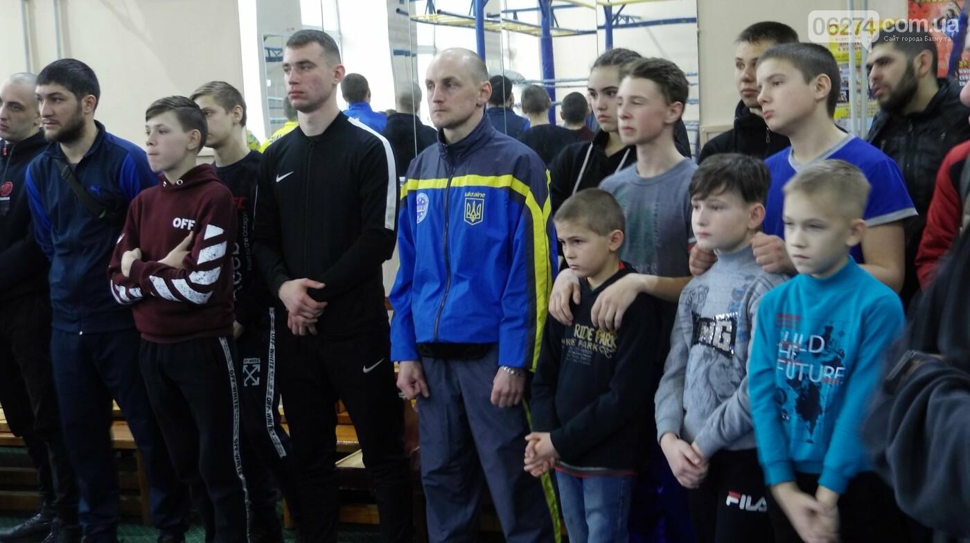 В Бахмуте состоялось открытие чемпионата области по кикбоксингу, фото-4