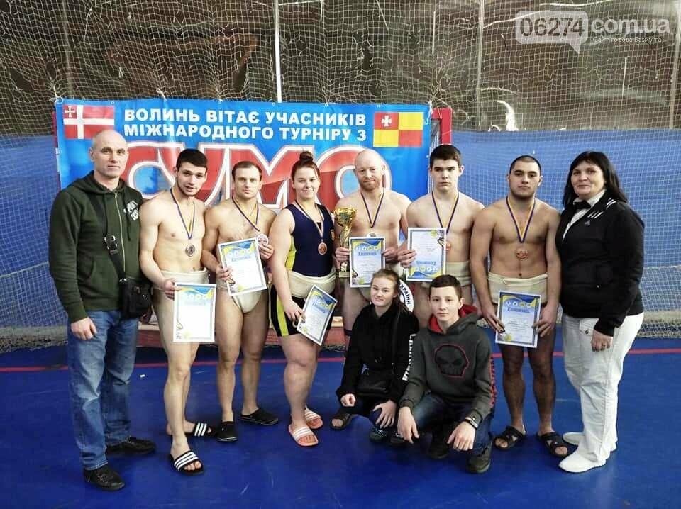 Бахмутские сумоисты стали призерами всеукраинских и международных соревнований, фото-5