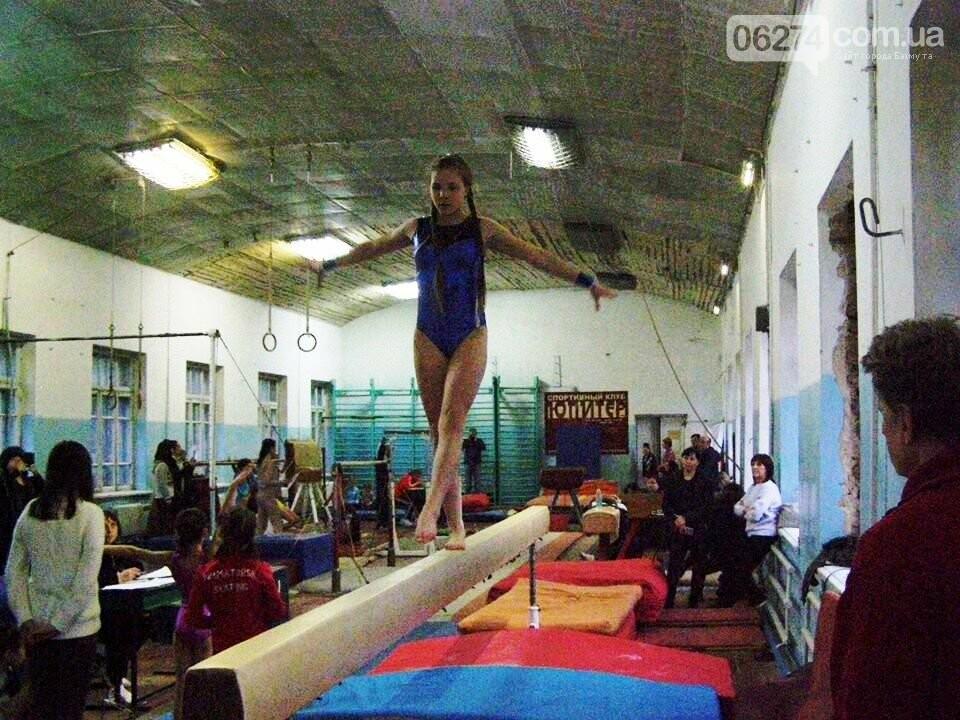 В Бахмуте прошел Открытый областной турнир по гимнастике, фото-2