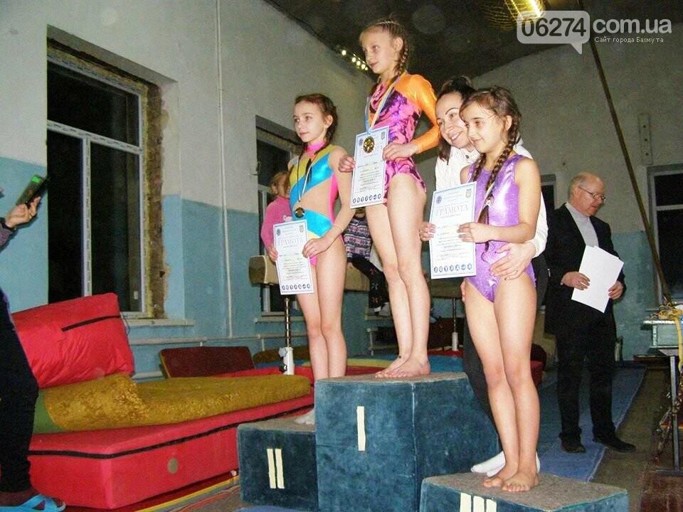 В Бахмуте прошел Открытый областной турнир по гимнастике, фото-10