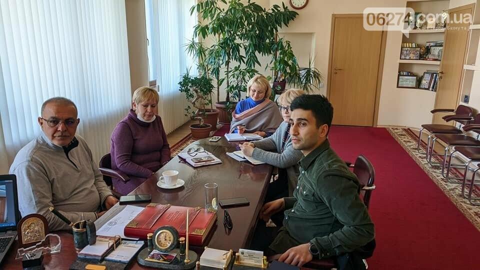 Мэр Бахмута обсудил с представителями ООН подготовку города к борьбе с COVID-19, фото-2