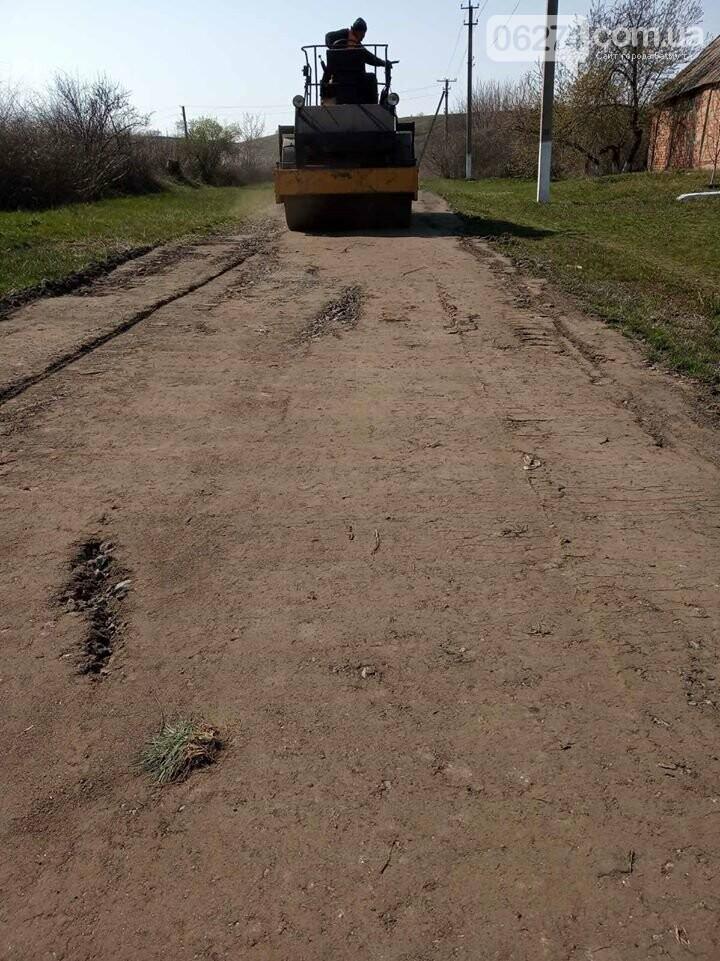 В селах Бахмутской ОТГ продолжают развивать инфраструктуру, фото-8