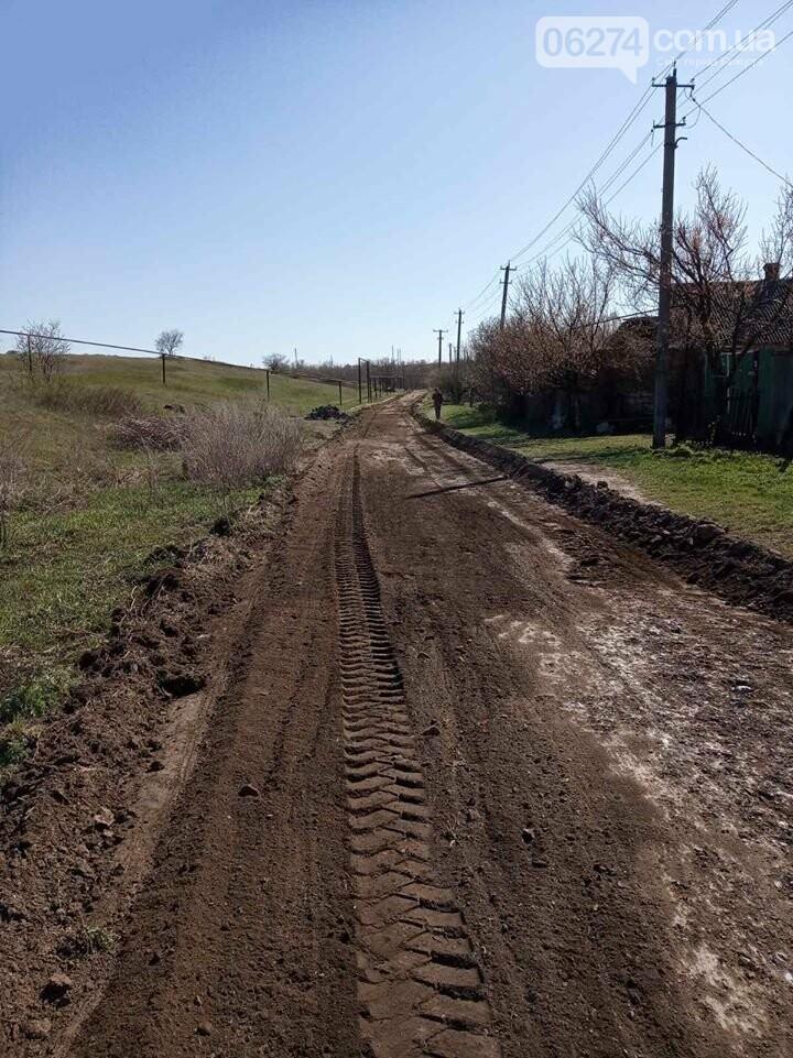 В селах Бахмутской ОТГ продолжают развивать инфраструктуру, фото-7