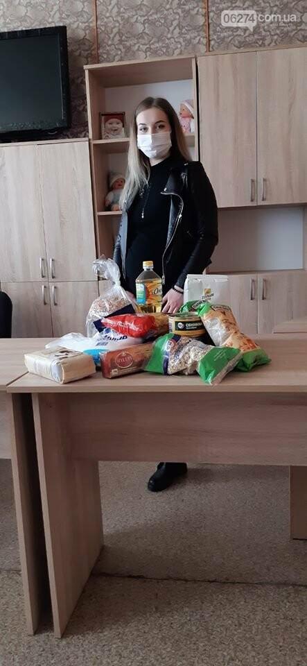 Беременные женщины Бахмута получили продуктовые наборы от Алексея Ревы, фото-6