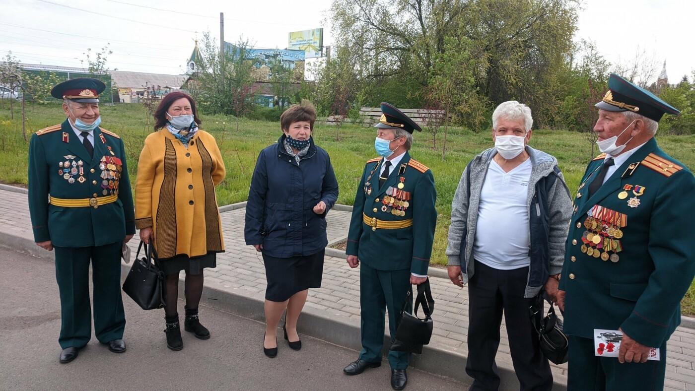 В Бахмуте открыли памятный знак к 75-летию Великой Победы, фото-1