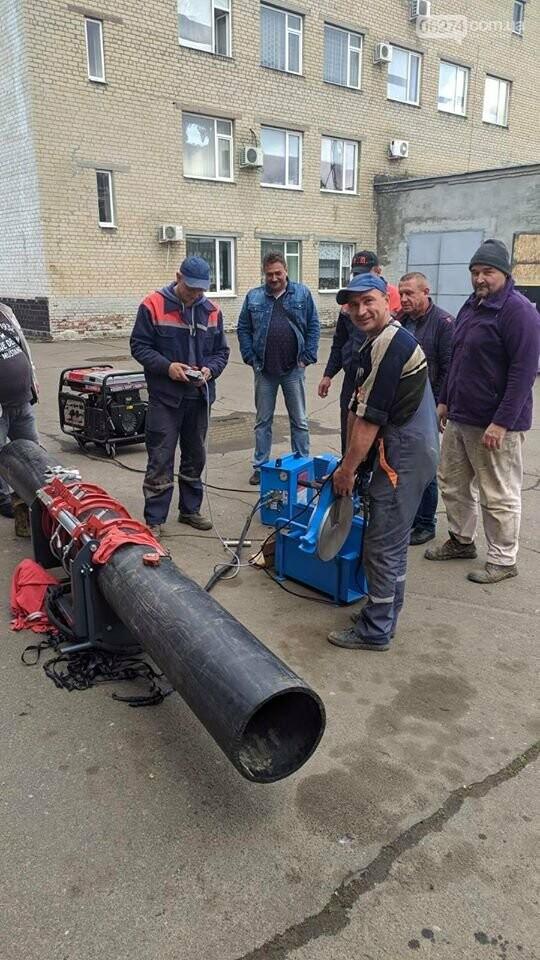 Бахмутский водоканал снова получил оборудование от ЮНИСЕФ, фото-2