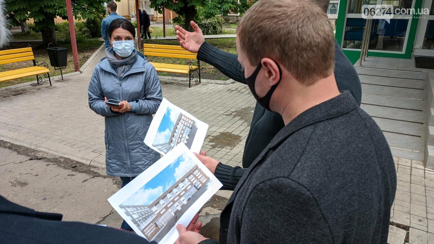 Бахмут с рабочей поездкой посетил глава ДонОГА Павел Кириленко, фото-16
