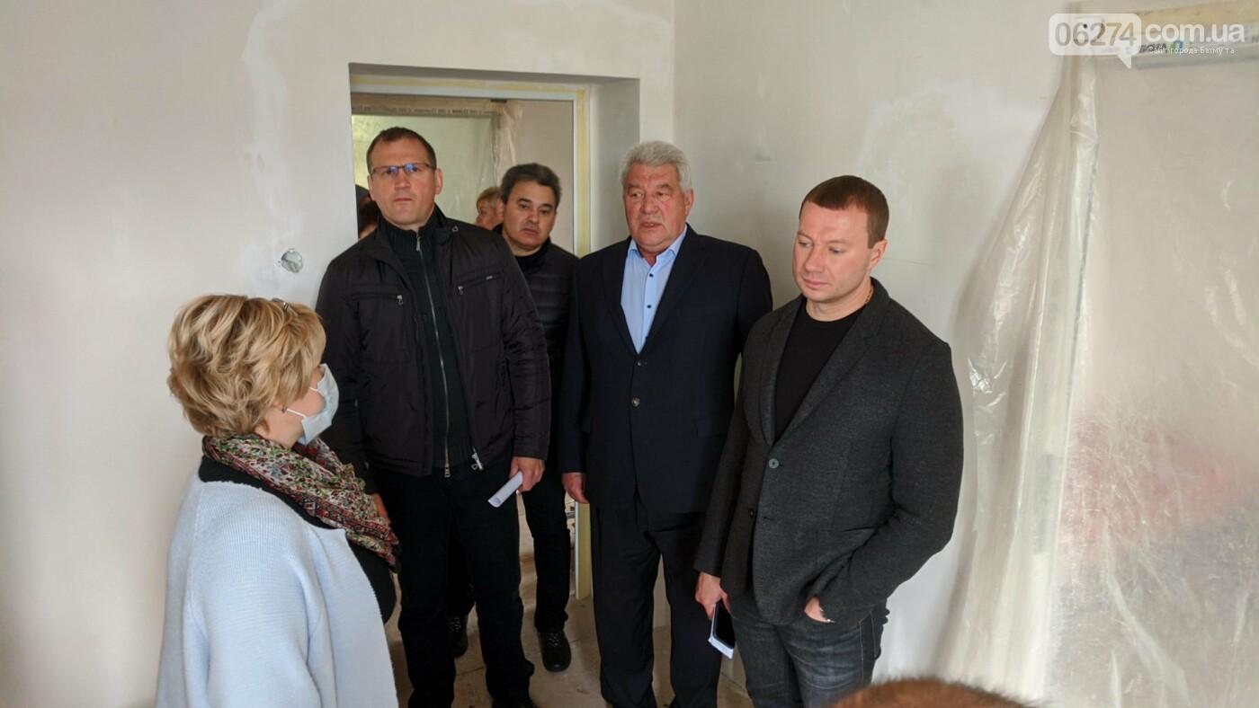 Бахмут с рабочей поездкой посетил глава ДонОГА Павел Кириленко, фото-6