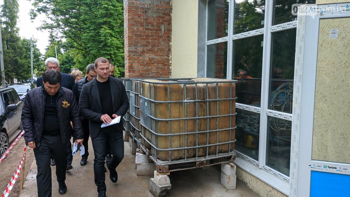Бахмут с рабочей поездкой посетил глава ДонОГА Павел Кириленко, фото-7