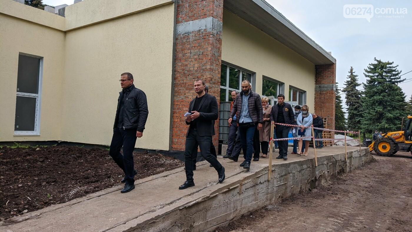 Бахмут с рабочей поездкой посетил глава ДонОГА Павел Кириленко, фото-10