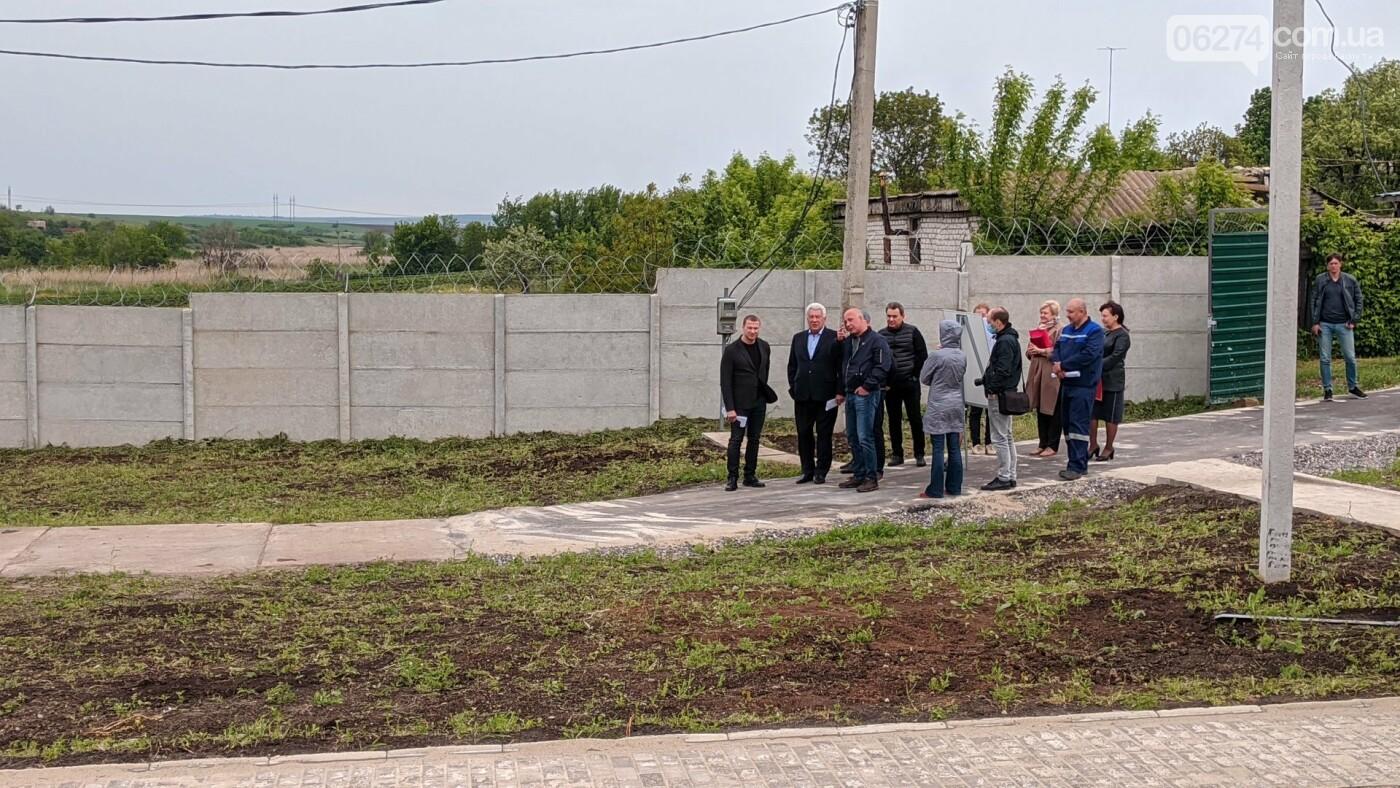 Бахмут с рабочей поездкой посетил глава ДонОГА Павел Кириленко, фото-5