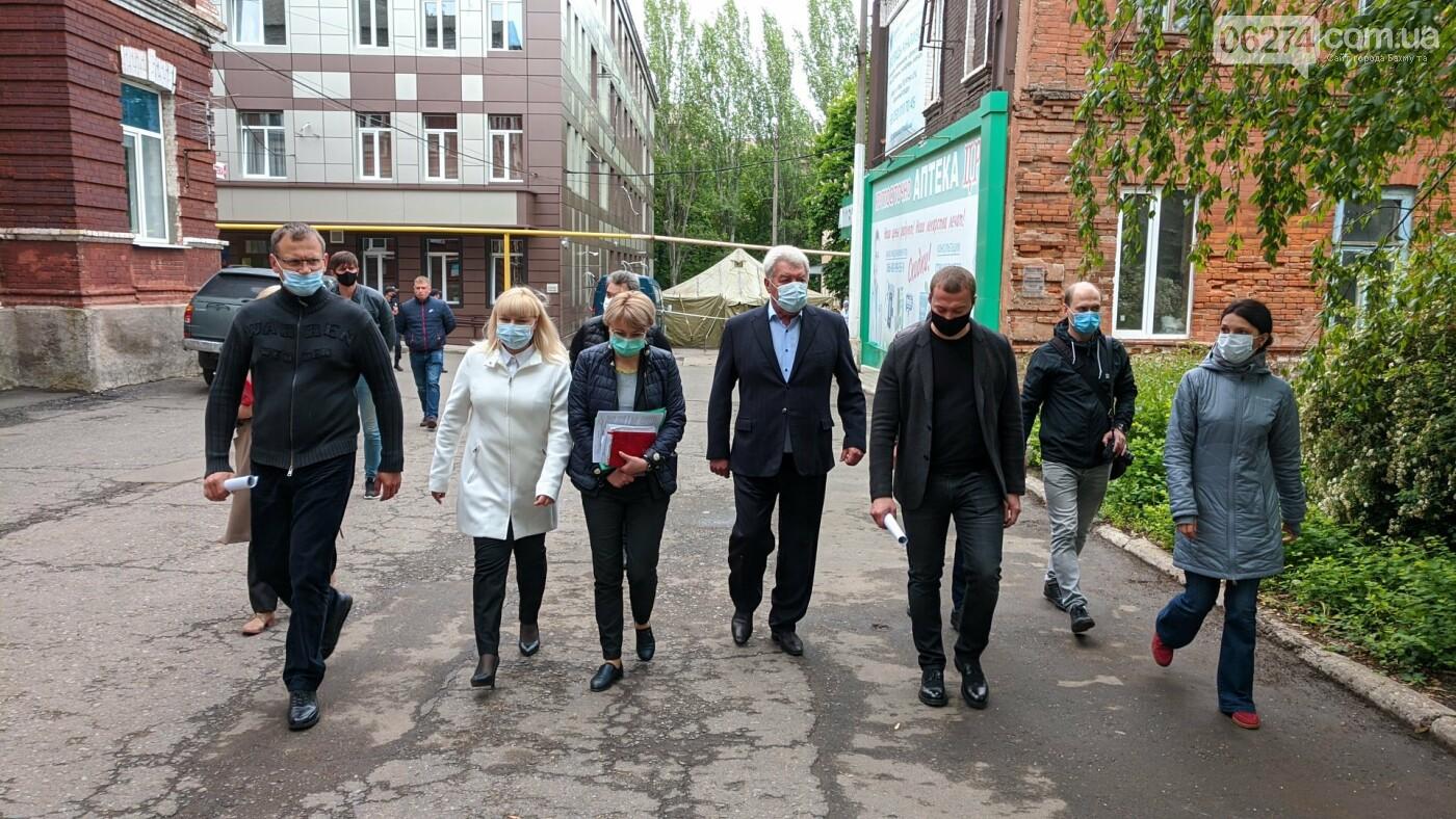 Бахмут с рабочей поездкой посетил глава ДонОГА Павел Кириленко, фото-17