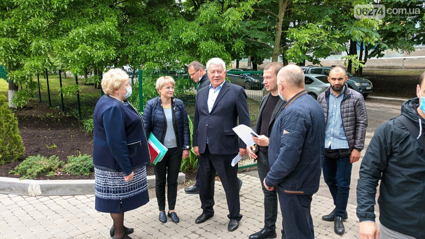 Бахмут с рабочей поездкой посетил глава ДонОГА Павел Кириленко, фото-26