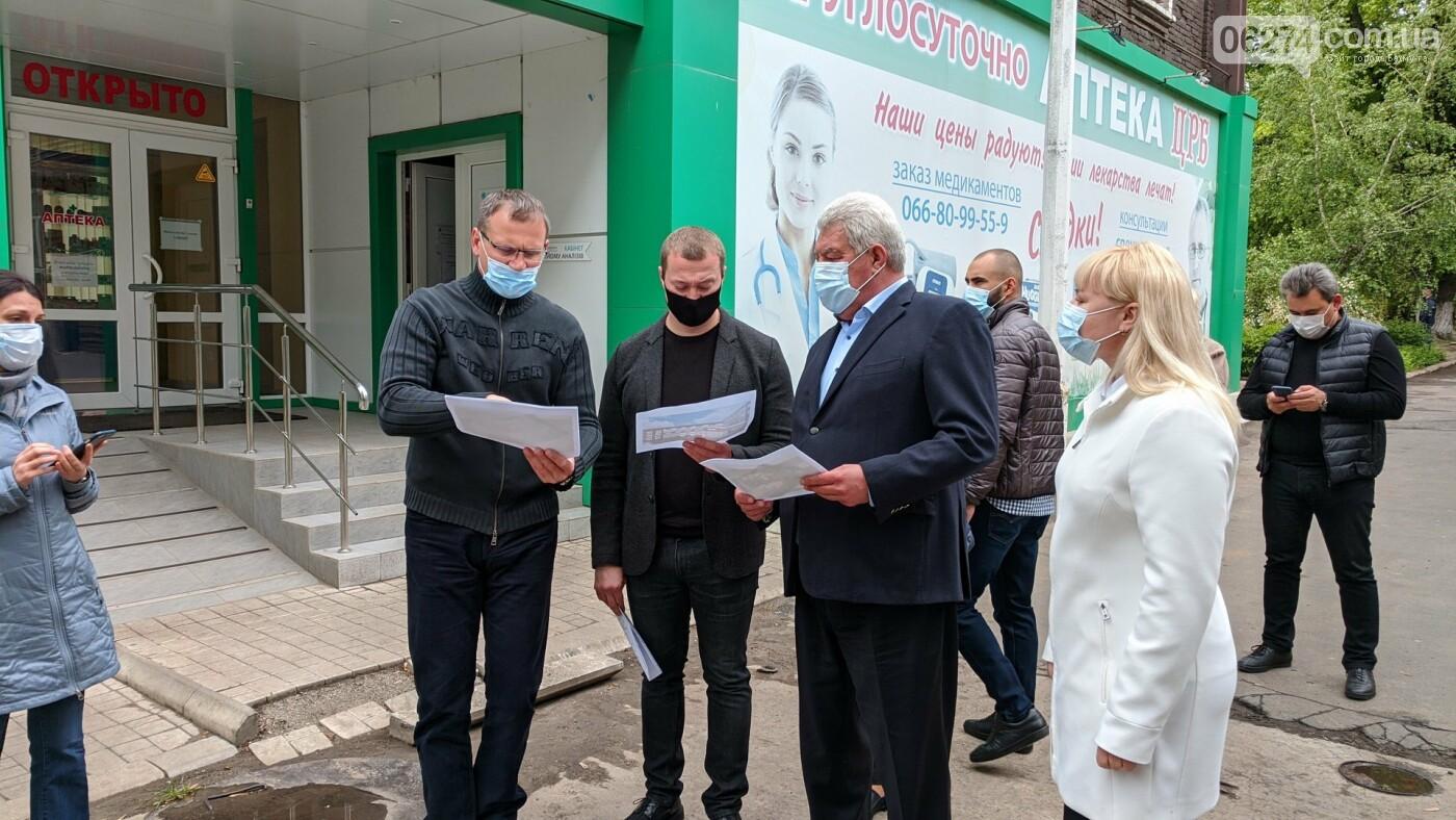 Бахмут с рабочей поездкой посетил глава ДонОГА Павел Кириленко, фото-15