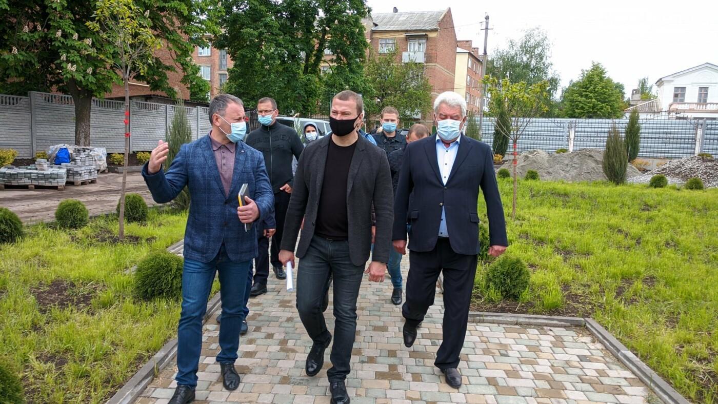 Бахмут с рабочей поездкой посетил глава ДонОГА Павел Кириленко, фото-20