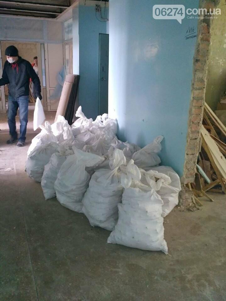 Ведутся работы по реконструкции корпуса №2 больницы Бахмута, фото-6