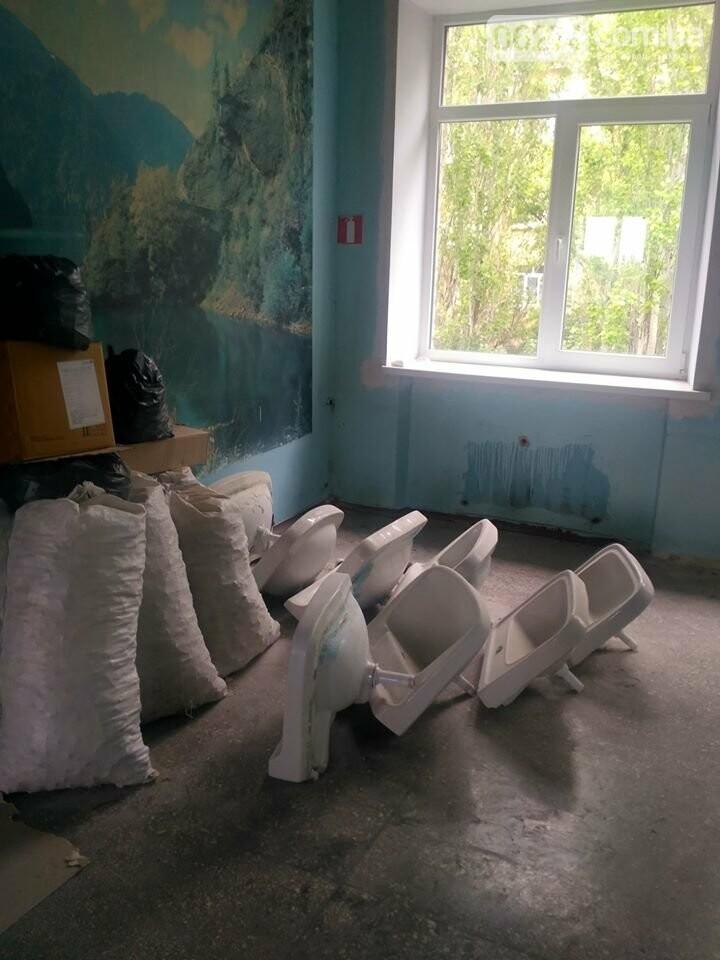 Ведутся работы по реконструкции корпуса №2 больницы Бахмута, фото-8