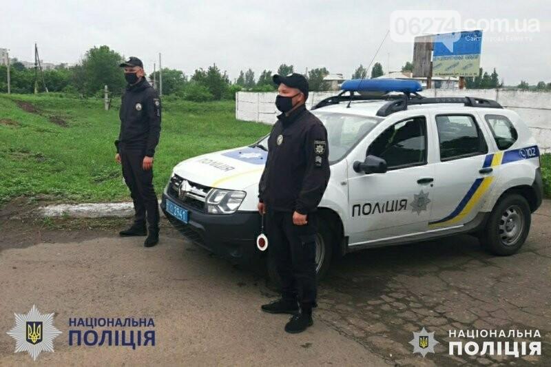 Бахмутская полиция проводит отработку по «снижению аварийности», фото-2