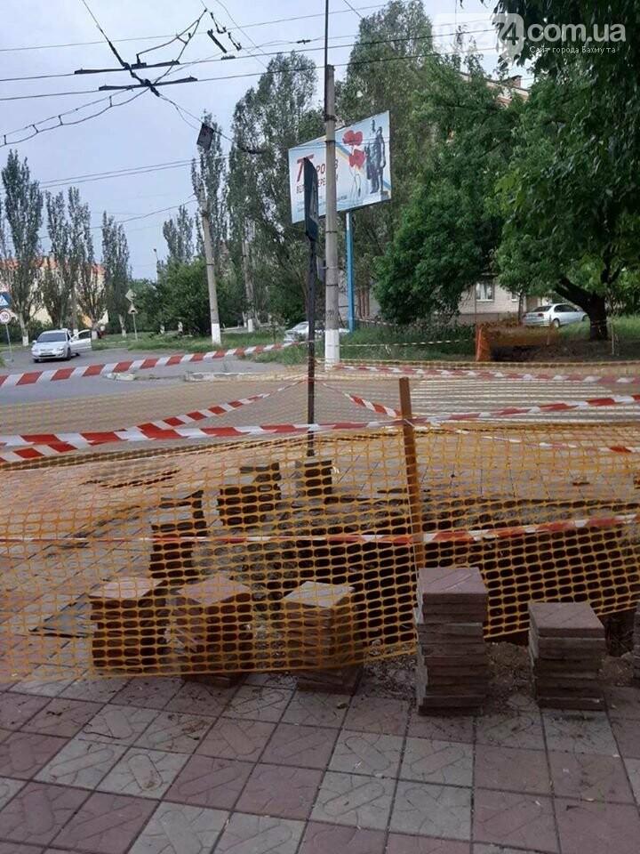 В Бахмуте начали реконструкцию водовода в сторону Забахмутки, фото-1