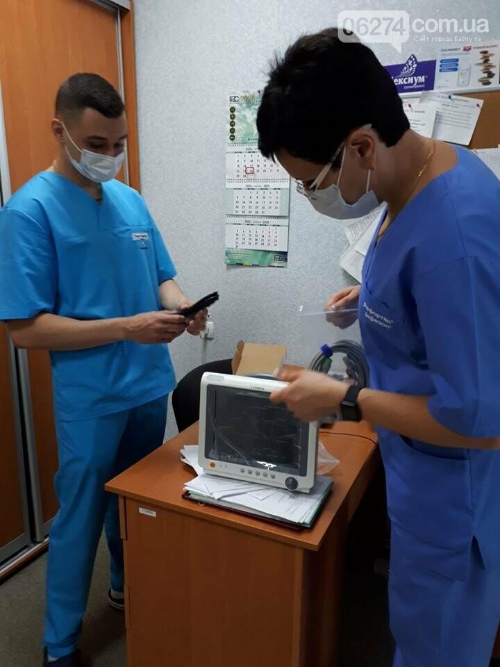 Больница Бахмута получила гуманитарную помощь в виде оборудования, фото-2