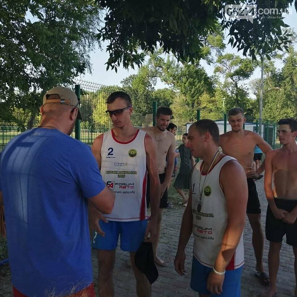 Волейболисты Бахмута стали лучшими в пляжном волейболе по области, фото-7