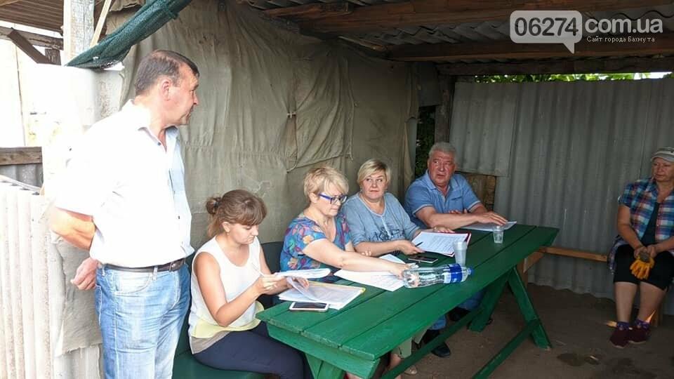 Бахмутский мэр встретился с сельхозработниками громады, фото-4