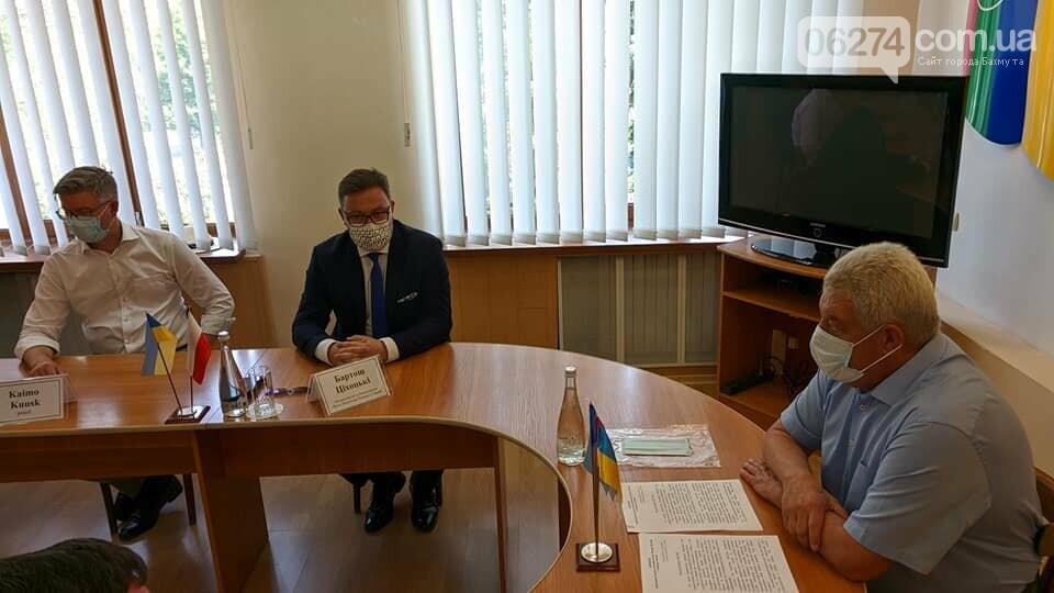 Бахмут с визитом посетили послы стран Евросоюза, фото-1