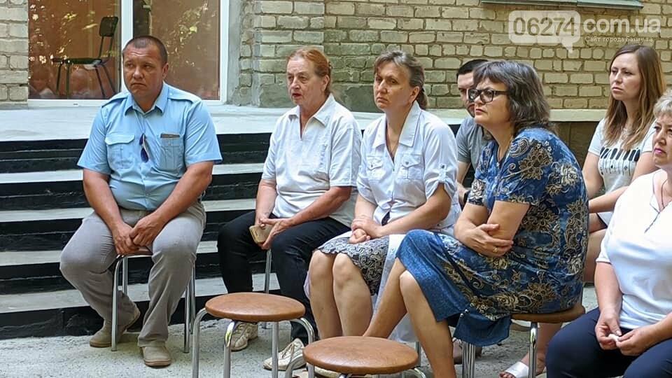 Бахмутский мэр встретился с сельхозработниками села Клиновое, фото-2