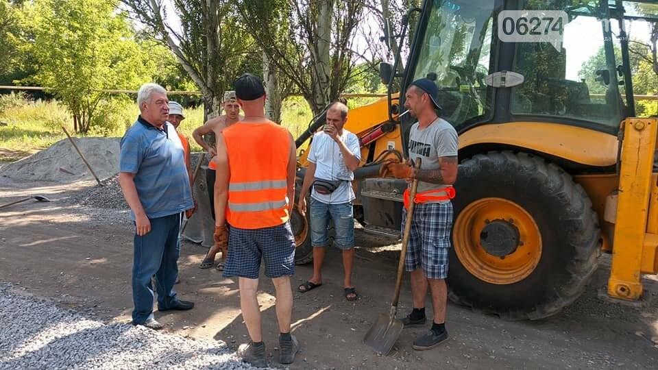 Бахмутский мэр встретился с сельхозработниками села Клиновое, фото-8