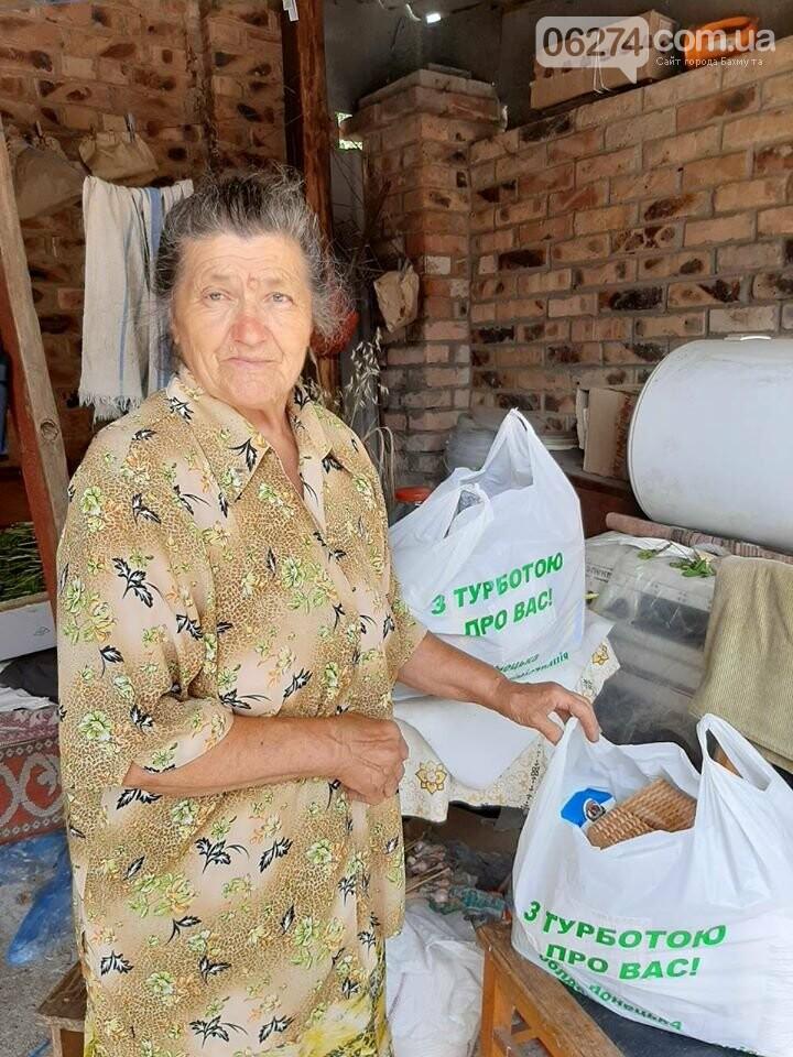 В Бахмуте пенсионеры получат продуктовые наборы, фото-1