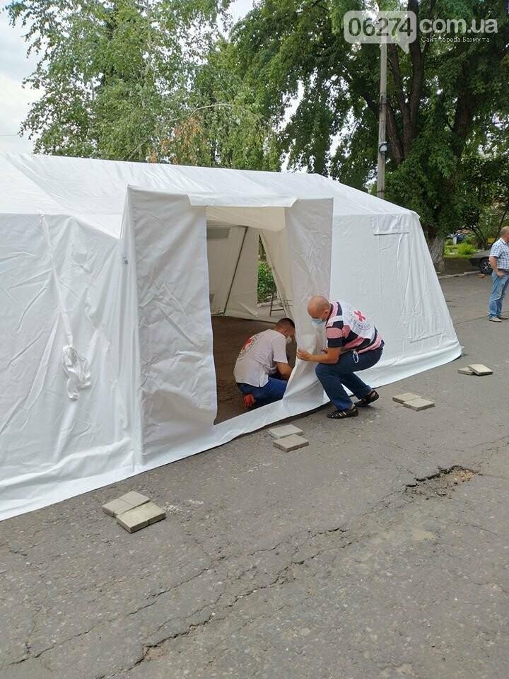 Бахмутская больница продолжает получать гуманитарную помощь в связи с COVID-19, фото-3
