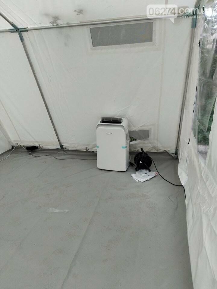Бахмутская больница продолжает получать гуманитарную помощь в связи с COVID-19, фото-6