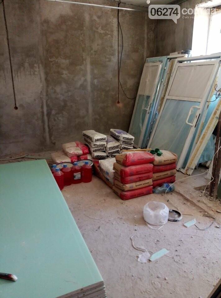 В Бахмуте начали ремонт в патологоанатомическом отделении (ФОТОФАКТ), фото-1