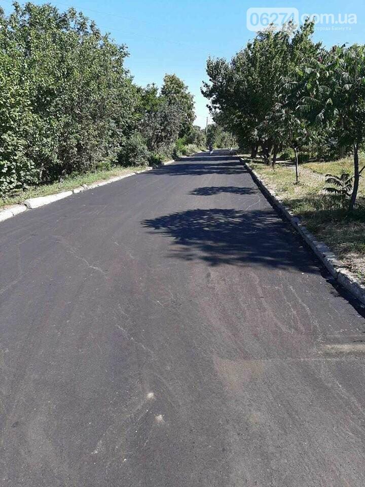 В селах Бахмутской громады проводится ремонт дорог, фото-3