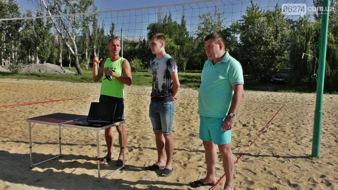 Инваспорт. Бахмутские спортсмены стали чемпионами области по пляжному волейболу, фото-1