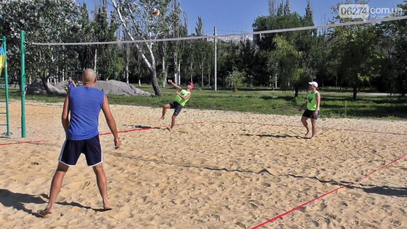 Инваспорт. Бахмутские спортсмены стали чемпионами области по пляжному волейболу, фото-12