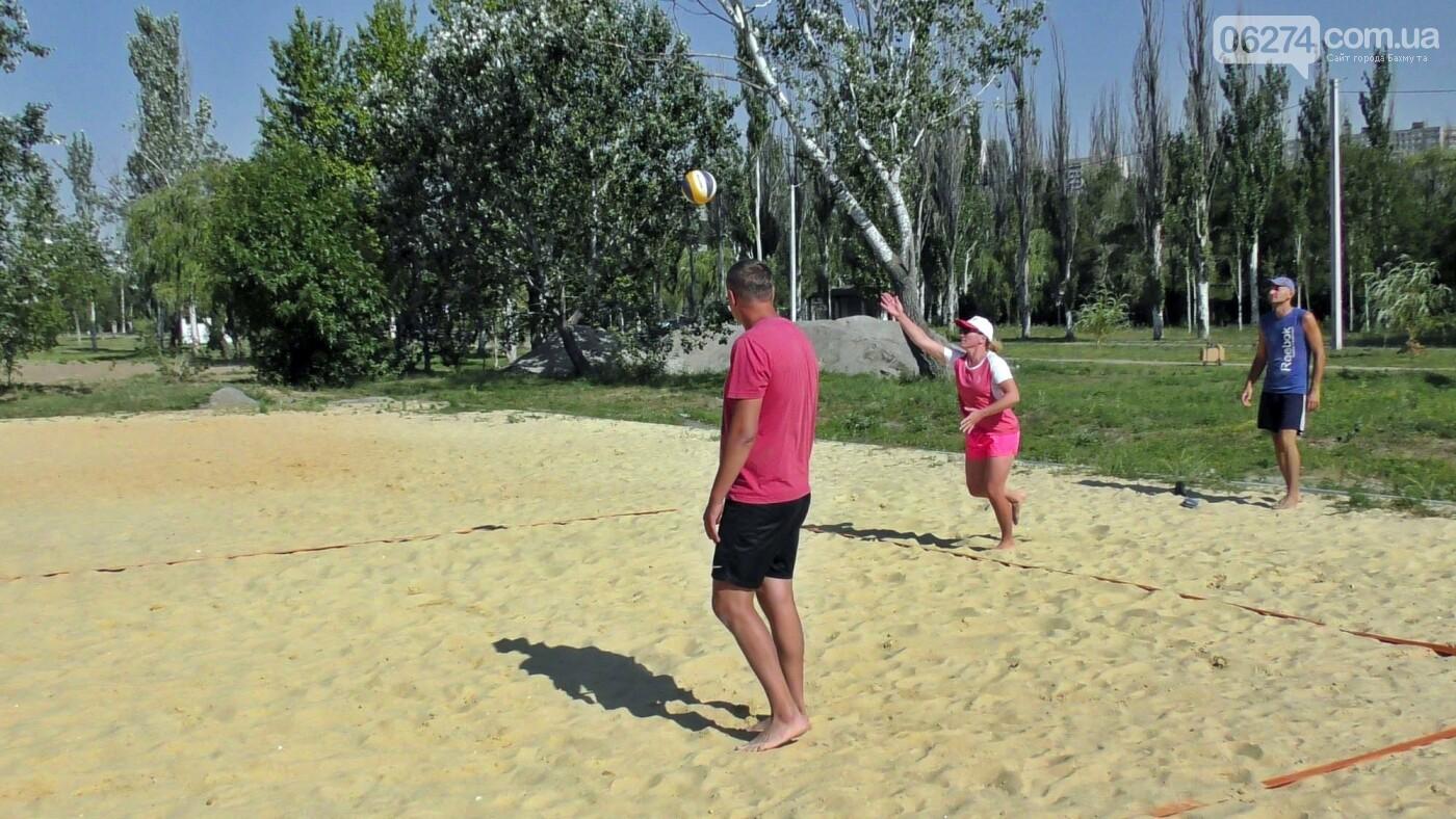 Инваспорт. Бахмутские спортсмены стали чемпионами области по пляжному волейболу, фото-10