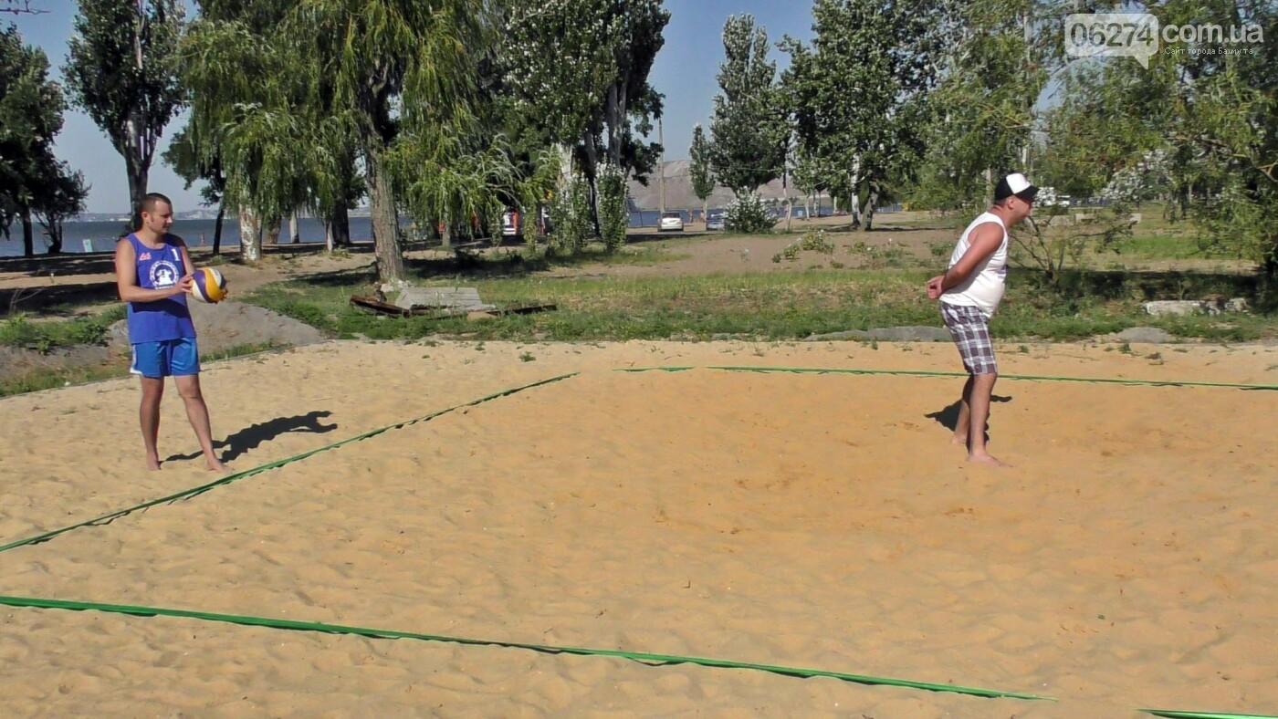 Инваспорт. Бахмутские спортсмены стали чемпионами области по пляжному волейболу, фото-8