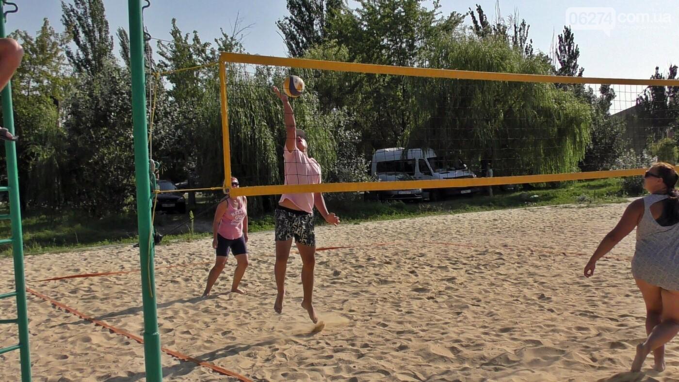 Инваспорт. Бахмутские спортсмены стали чемпионами области по пляжному волейболу, фото-11