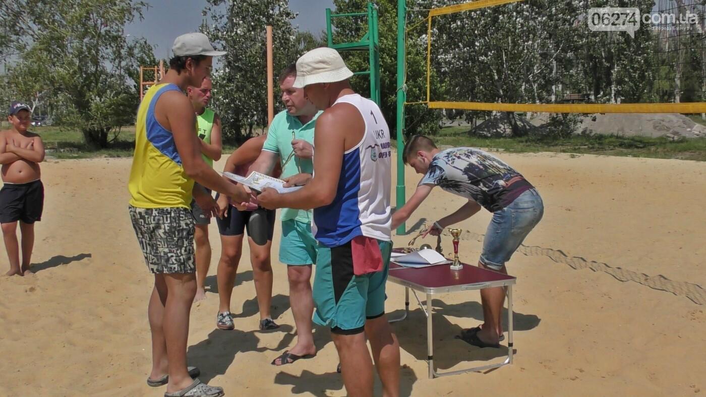 Инваспорт. Бахмутские спортсмены стали чемпионами области по пляжному волейболу, фото-14