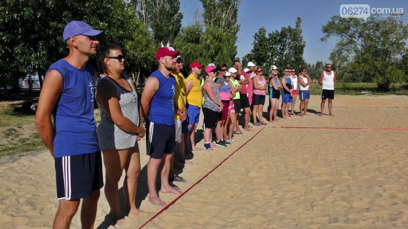 Инваспорт. Бахмутские спортсмены стали чемпионами области по пляжному волейболу, фото-4