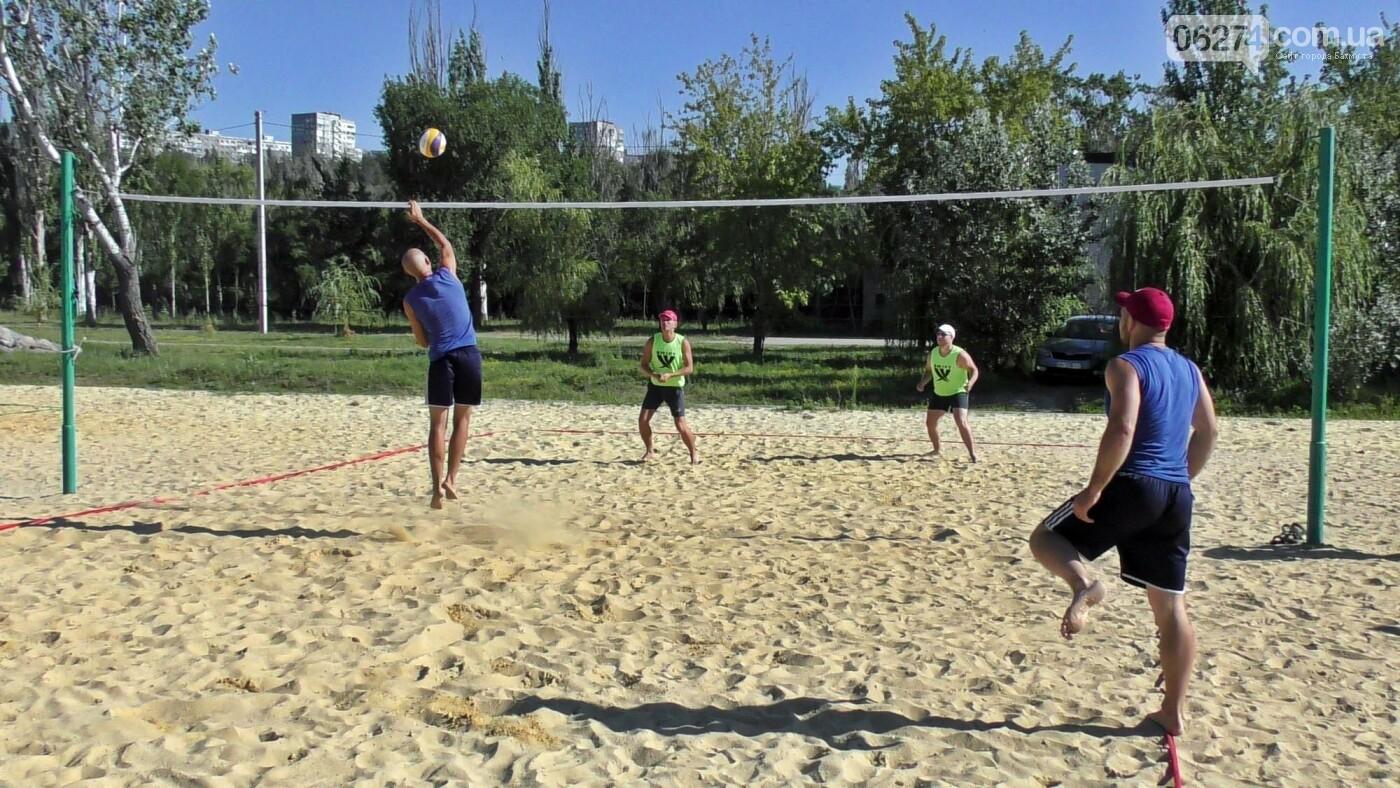 Инваспорт. Бахмутские спортсмены стали чемпионами области по пляжному волейболу, фото-5