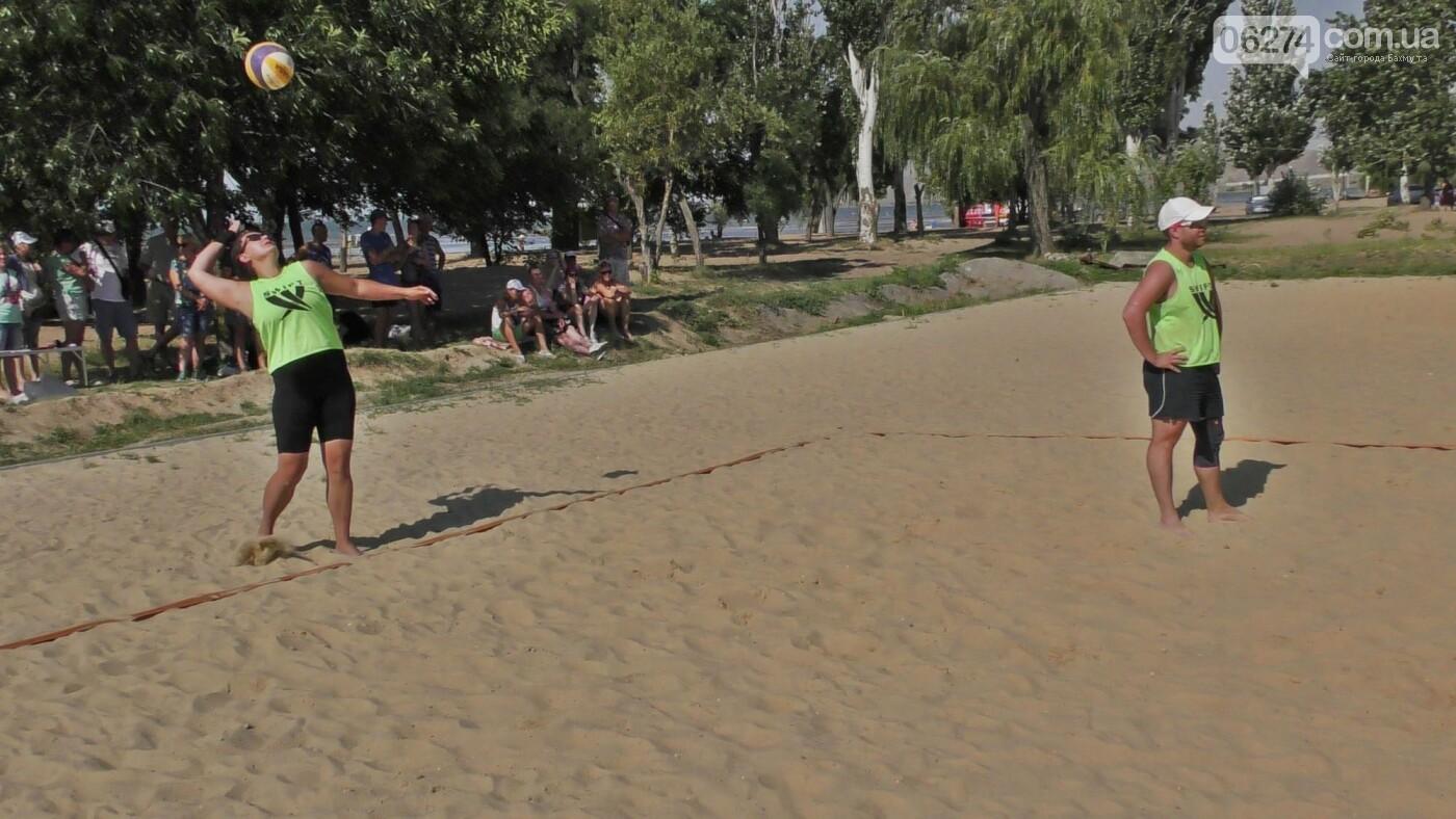 Инваспорт. Бахмутские спортсмены стали чемпионами области по пляжному волейболу, фото-7