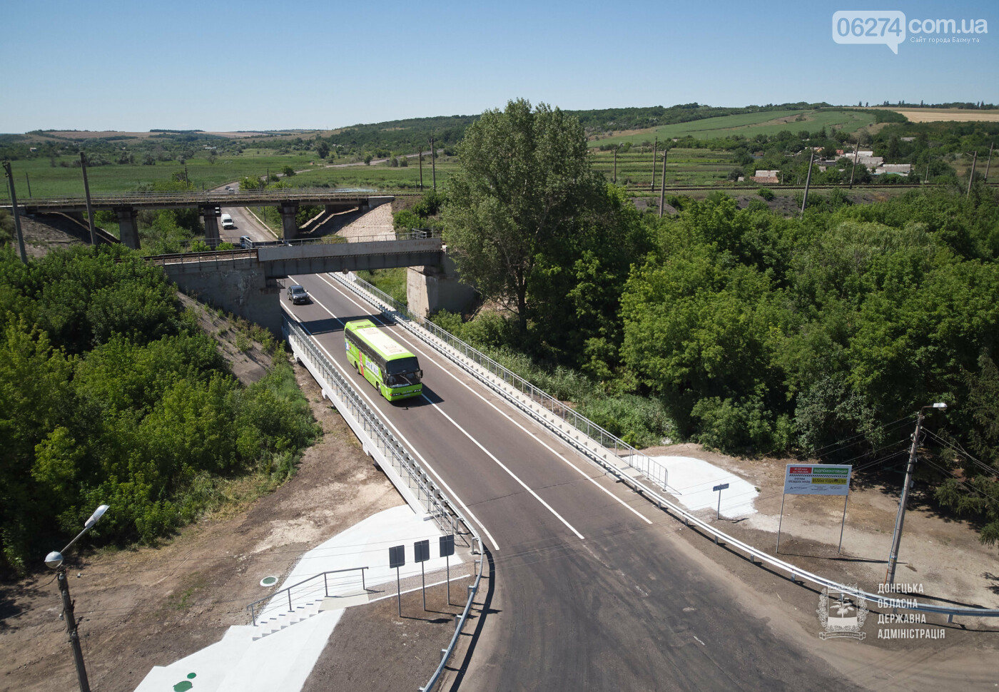 В Бахмутской ОТГ отремонтировано три моста с опережением графиков, фото-7